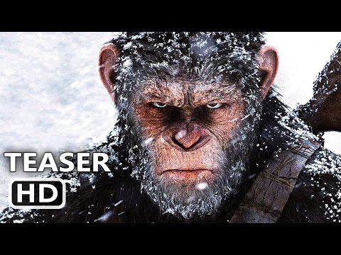 WАR FOR THE PLАNET OF THE АPES Official Trailer # 2 TEASER  (2017) Action Blockbuster Movie HD
