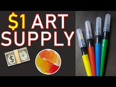 Dollar Store Art Supplies ⏐ Paint Pens TEST ⏐ 1 Dollar Art ⏐ Alicia Annne ⏐