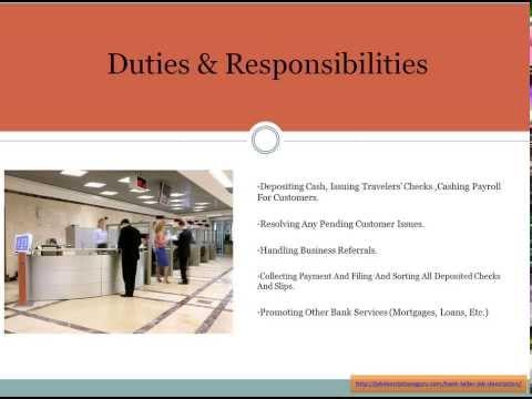 Teller Job | Resume Format Download Pdf