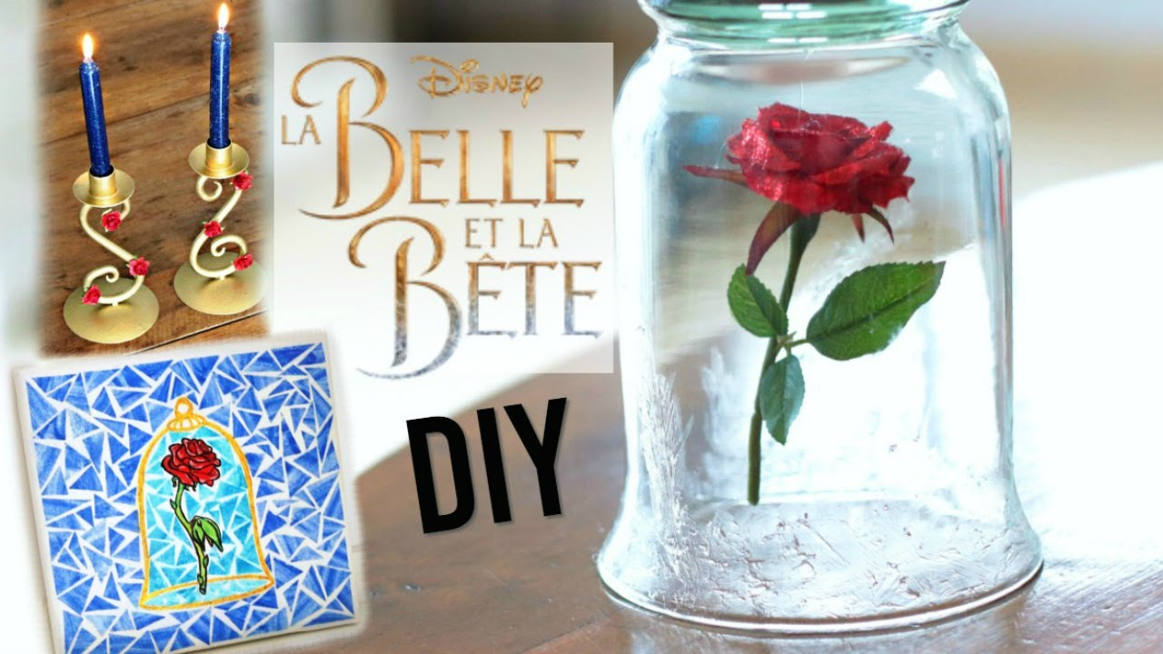 diy deco chambre facile disney la belle et la b te fran ais youtube. Black Bedroom Furniture Sets. Home Design Ideas