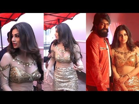 Mouni Roy And K.G.F. Film Actor Yash Promoting Film K.G.F: Chapter 1