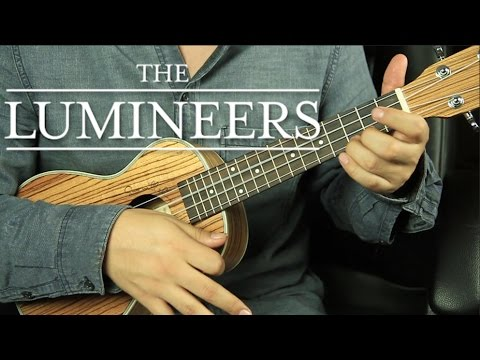 The Lumineers Ho Hey Ukulele Tutorial Fcil Youtube