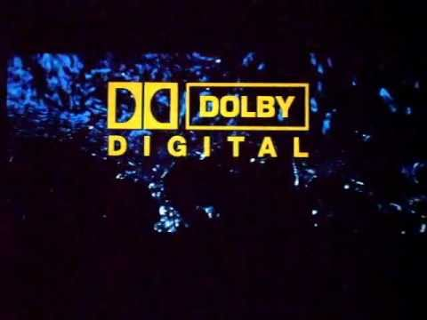 Dolby SRD/dts/SDDS trailers medley on the screen in THX cinema.