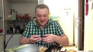 Vine video Рисунок/креветки салака картошечка мукбанг MUKBANG humor юмор аппетиту вам