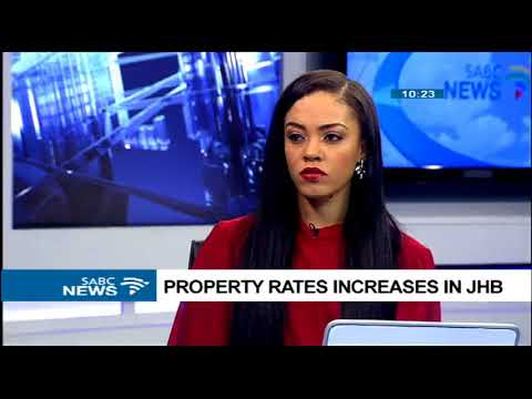 Property rates increases in Johannesburg