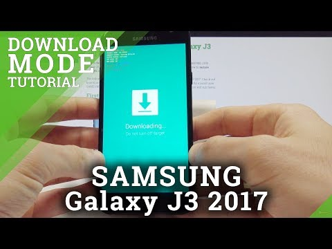 How to Boot into Download Mode in SAMSUNG Galaxy J3 2017 - Odin Mode  Tutorial