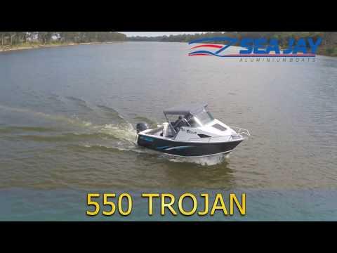 550 Trojan - Sea Jay Aluminium Boats