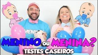 TENTANDO DESCOBRIR O SEXO DO BEBÊ COM TESTES CASEIROS