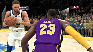 NBA 2K20 Gameplay - Los Angeles Lakers vs Golden State Warriors – NBA 2K20 PS4
