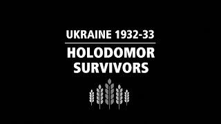 Holodomor survivors