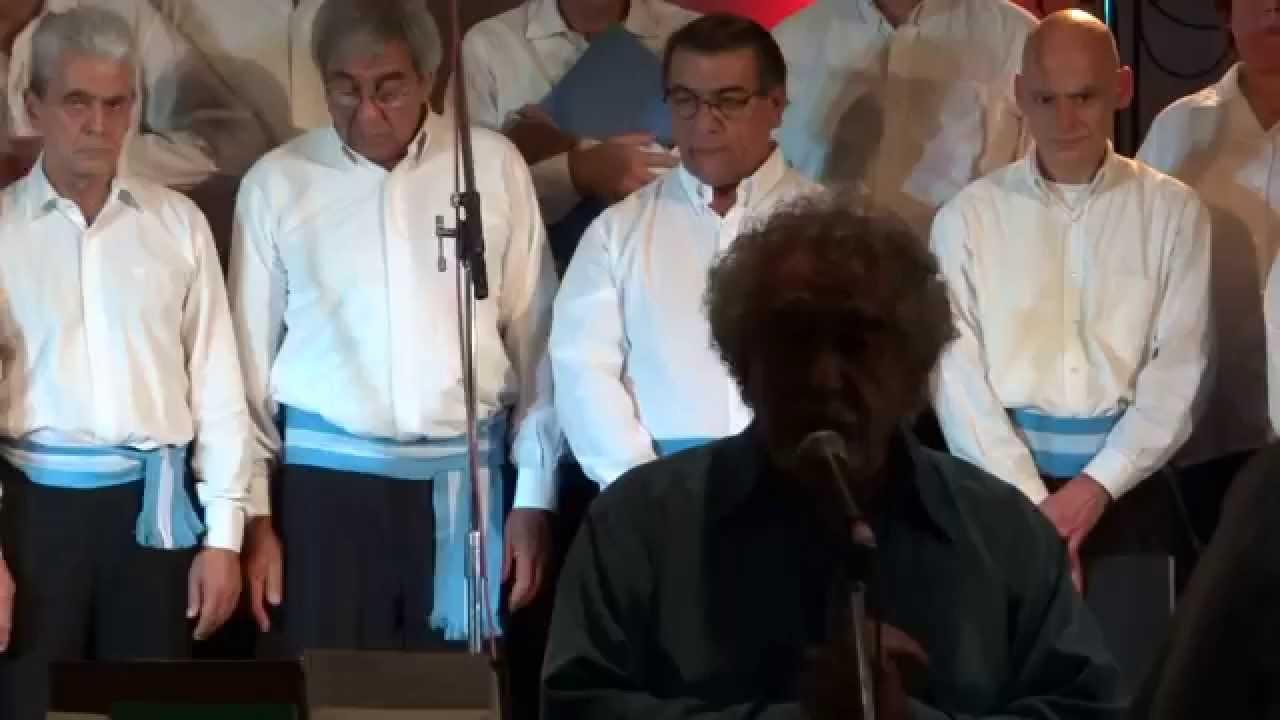 Coral de las Américas dirigido por el maestro Damián Sánchez - 10/05/14 parte 1