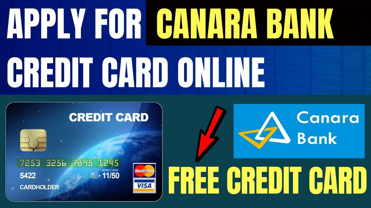 apply canara bank credit card how to apply canara bank credit card online youtube. Black Bedroom Furniture Sets. Home Design Ideas