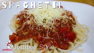 How To Cook Jollibee Style Spaghetti Sauce | Sweet Style Spaghetti