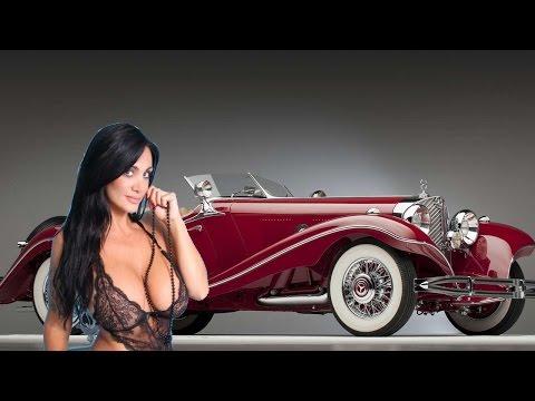 #1193. Старые автомобили - Mercedes-Benz 500 K