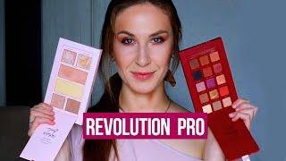 Палетки Revolution Pro в действии Обзор и макияж