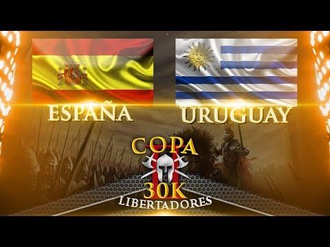 ESPAÑA VS URUGUAY OCTAVOS DE FINAL COPA 30K AGE OF EMPIRES 2