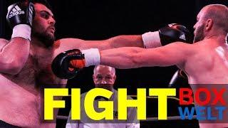 Djuar El Scheich vs Kiril Harder - 6 rounds heavyweight - 03.10.2017 - Zirkus Busch