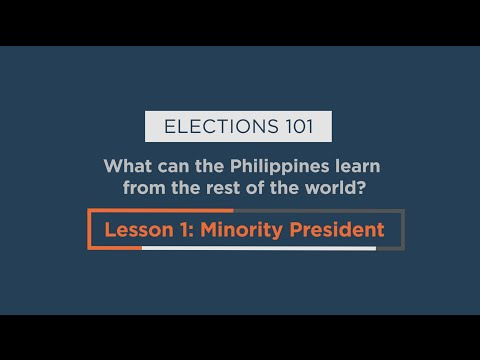 What is a minority president?
