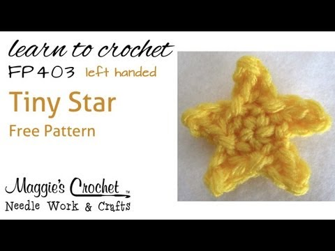How To Crochet A Small Star Youtube