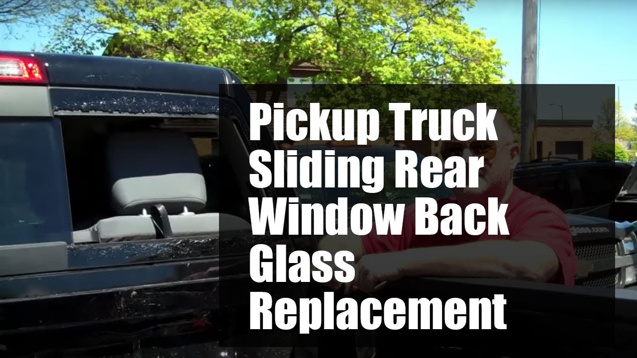 77 Chevy Truck >> Pickup truck sliding rear window back glass replacement ...