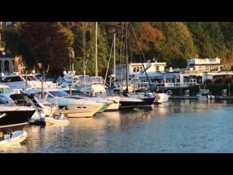 Roche Harbor Marina by DRONE