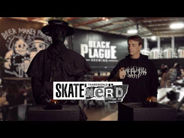 SkateNerd - Tony Hawk vs The Plague Doctor - Transworld Skateboarding
