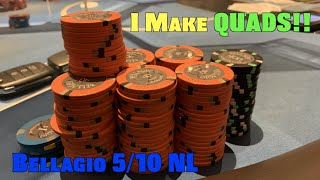 I Make Quads In Big Win vs Wild Player Who Wants To Make The Vlog!! Poker Vlog Ep 156