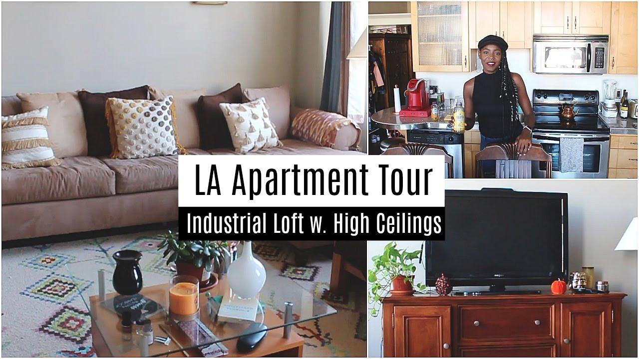 Downtown LA Loft Apartment Tour   My Dream Apartment! 2017   2018