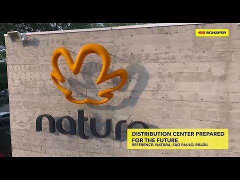 Sustainable and innovative logistics processes for Natura, Sao Paulo | SSI SCHAEFER