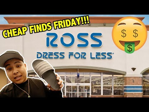 EPISODE 1 - CHEAP FINDS FRIDAY!!! (FINDING HEAT AT ROSS, MARSHALLS, DDS, ETC.)