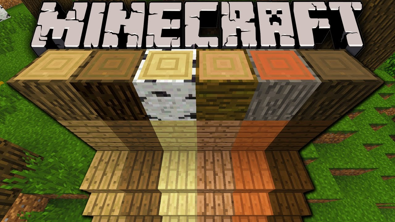 Minecraft Oak Wood ~ Minecraft pre release new wood dark oak acacia