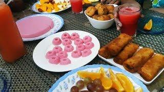 ഇന്നലത്തെ Iftar വിശേഷങ്ങൾ |Pidiyum Kozhiyum-Kinathappam-Spring Roll-Cheese Balls| Salu Kitchen