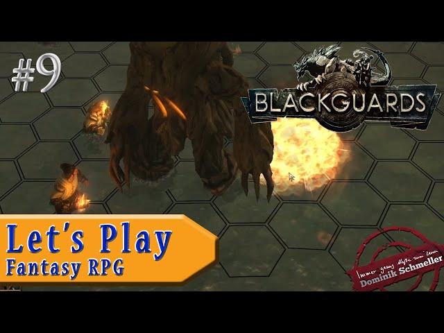 Let's Play Blackguards #9: Waldschrat donnert durch Sumpf (Rollenspiel / Das Schwarze Auge / blind)