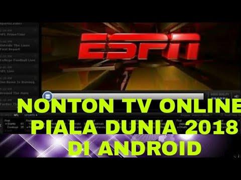 Nonton Piala Dunia 2018 Rusia Di Tv Online Android Youtube