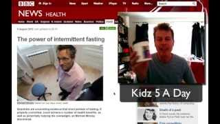 Intermittent fasting Diet treat, tasty drink for 2 days of fasting on the 5:2 diet