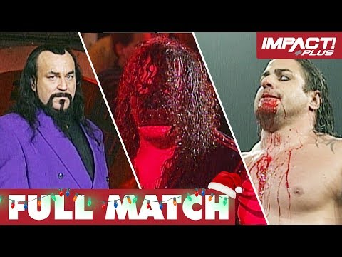 Barbed Wire Christmas Tree: FULL MATCH (Silent Night, Bloody Night) | IMPACT Wrestling Full Matches from YouTube · Duration:  10 minutes 52 seconds