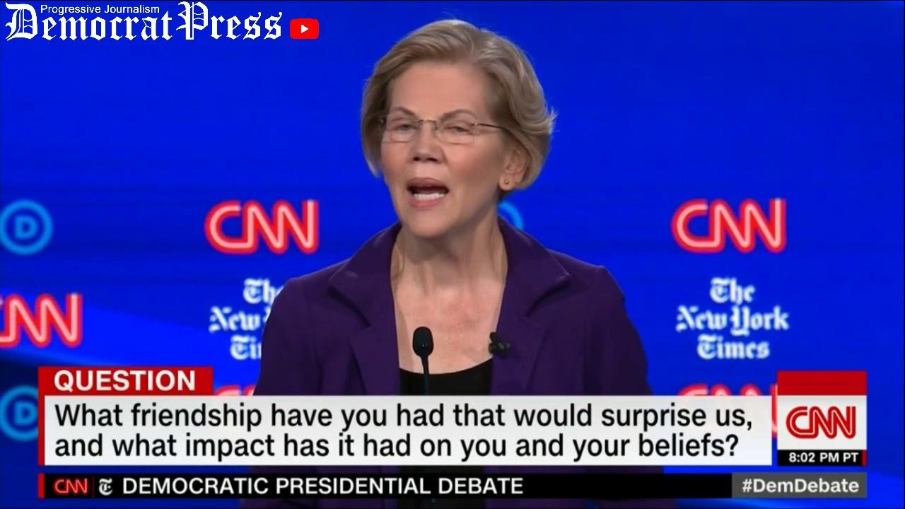 Elizabeth Warren's Closing Statements - Democratic Debate Highlights - 10/14/19 CNN