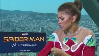 Tom Holland & Zendaya on first impressions and singing