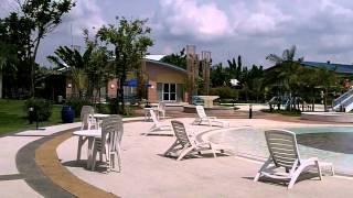 Acropolis North Resort Hotel poolside.