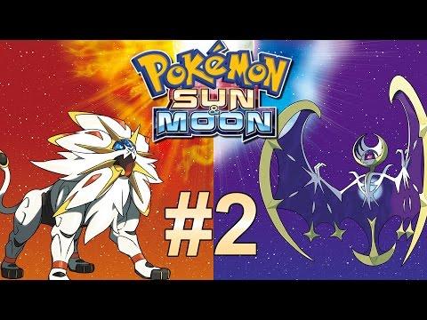 Pokemon Sonne und Mond #2 - Let's Play Pokemon Sun and Moon Deutsch German Gameplay