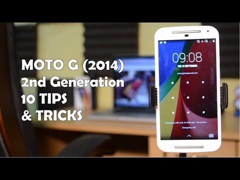 10+ Tips & Tricks on Moto G 2nd Gen 2014!