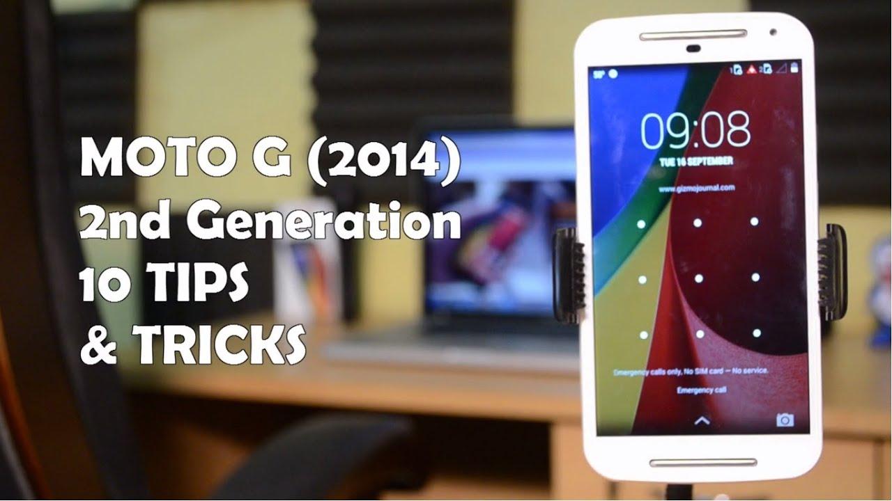 10+ Tips & Tricks on Moto G 2nd Gen 2014!