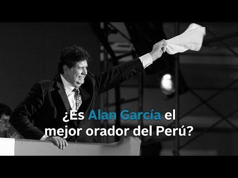¿Es Alan García el mejor orador del Perú?