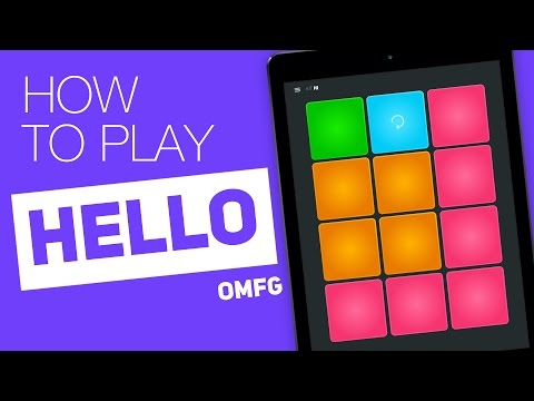 How to play: HELLO (Omfg) - SUPER PADS - Hi Kit
