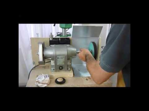 Polishing Attachment For The Bench Grinder Youtube