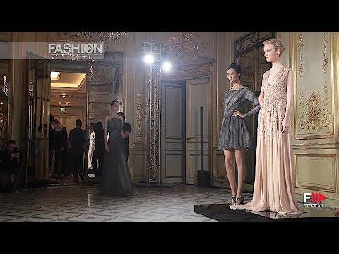 Rami Al Ali Haute Couture Fall 2013 Paris Fashion Channel Youtube