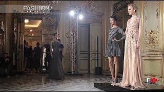 RAMI AL ALI Haute Couture Fall 2013 Paris - Fashion Channel