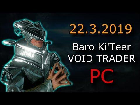 Void Trader Warframe Xbox