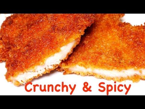 Crunchy Spicy Breaded Chicken