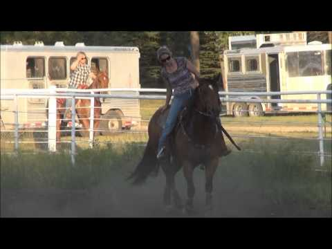 McHenry County Saddle Club Barrel Racing July 10, 2012